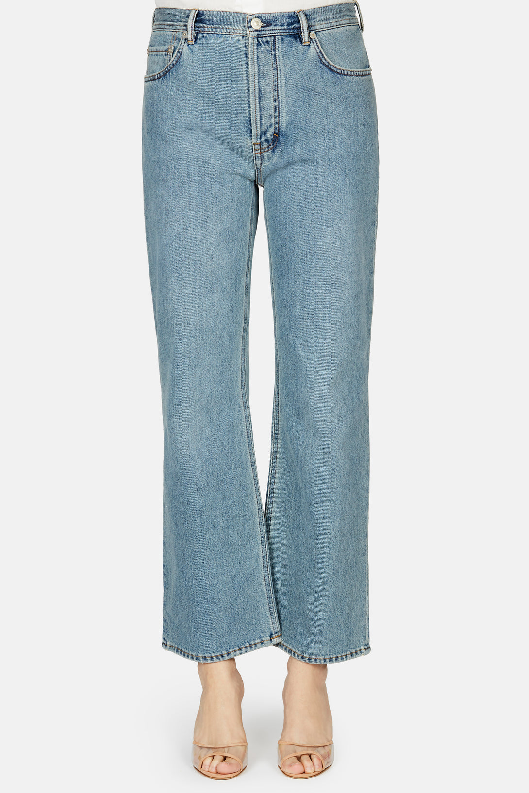 Taguhy Straight Denim Jean - Blue Vintage
