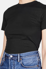 Dorla Short Sleeve Tee - Black