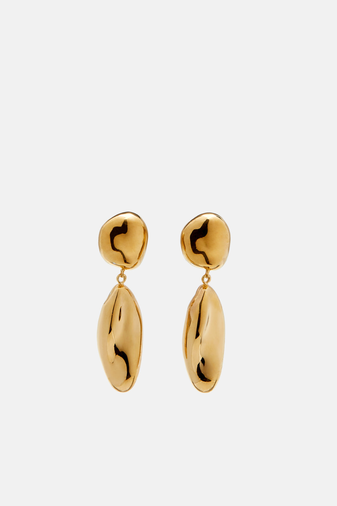 Short Patrice Earrings - Gold Vermeil