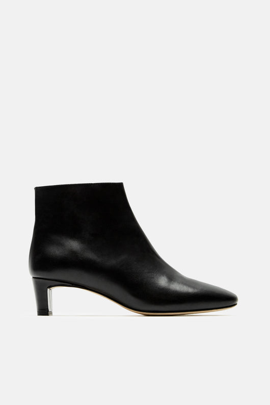 Clusia Square Toe Ankle Boot - Black