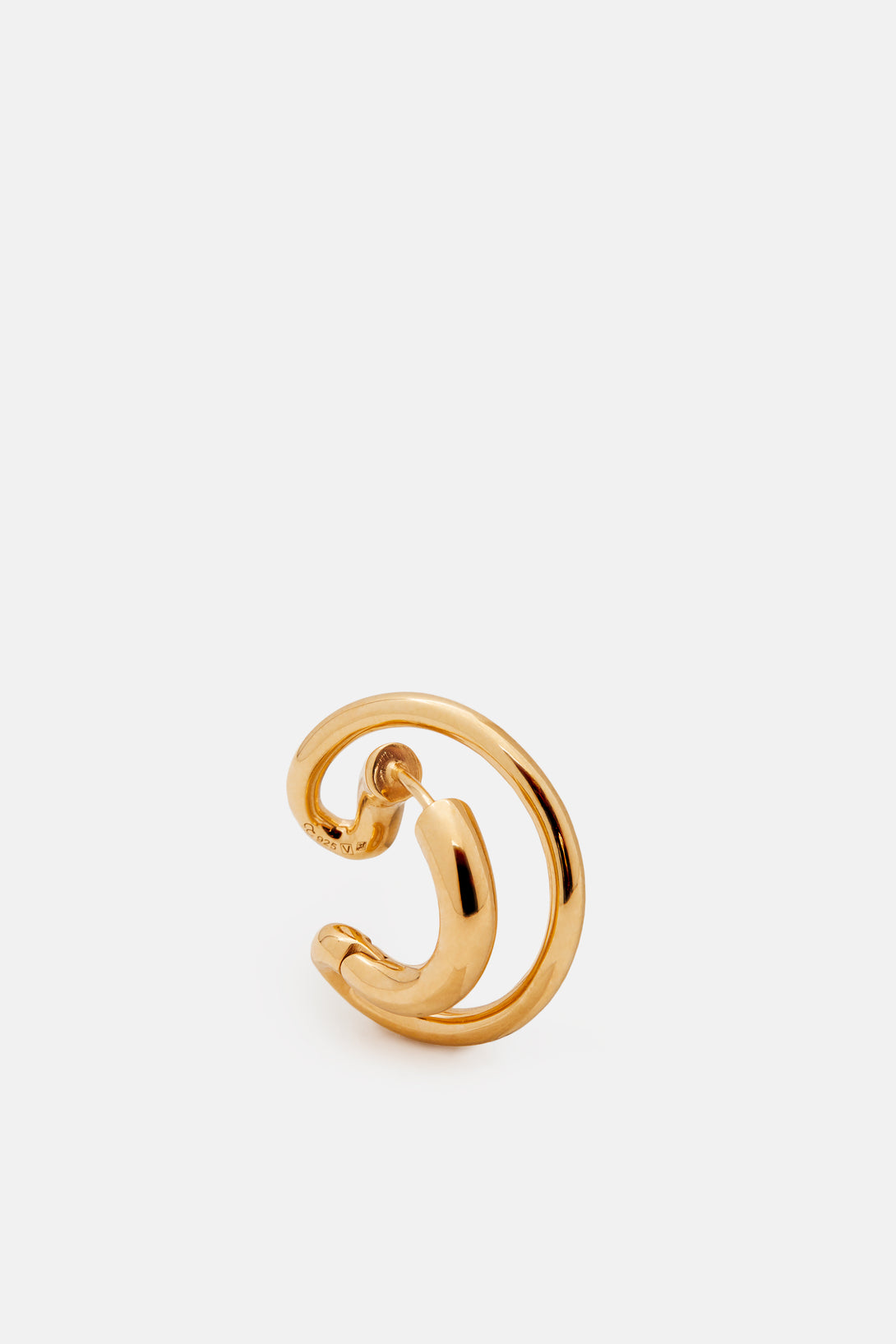 Charlotte Chesnais Ego Small Earring - Yellow Vermeil Gold uAqcBaA
