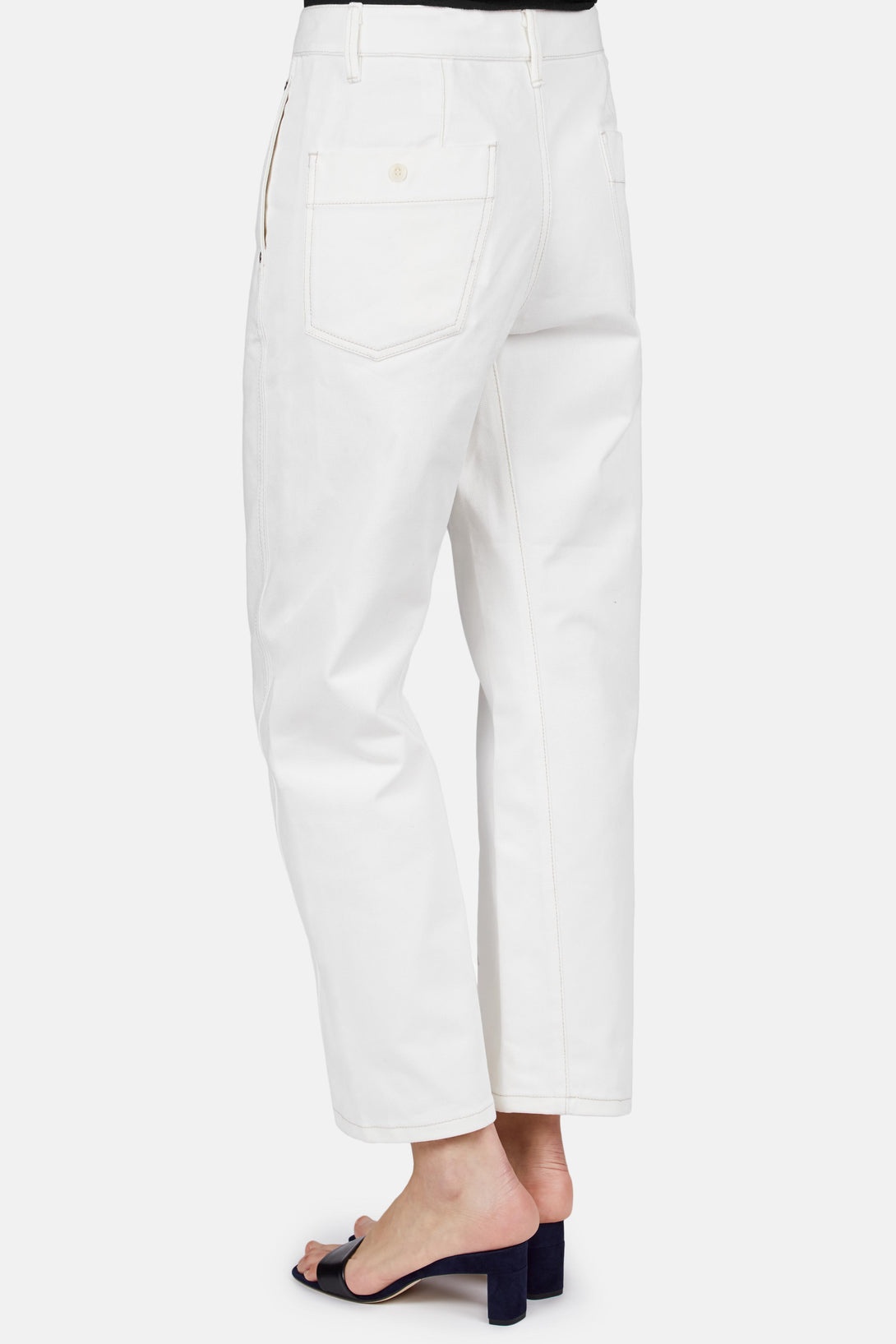 twisted trousers - White Christophe Lemaire 27xWF