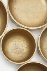 Esa Fedrigolli Bronze Concentric Bowls - Set of Five