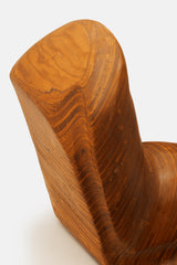 Large Wooden Abstract Sculpture