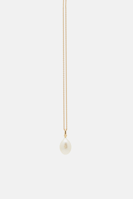 Mignon Pearl Necklace - White Pearl