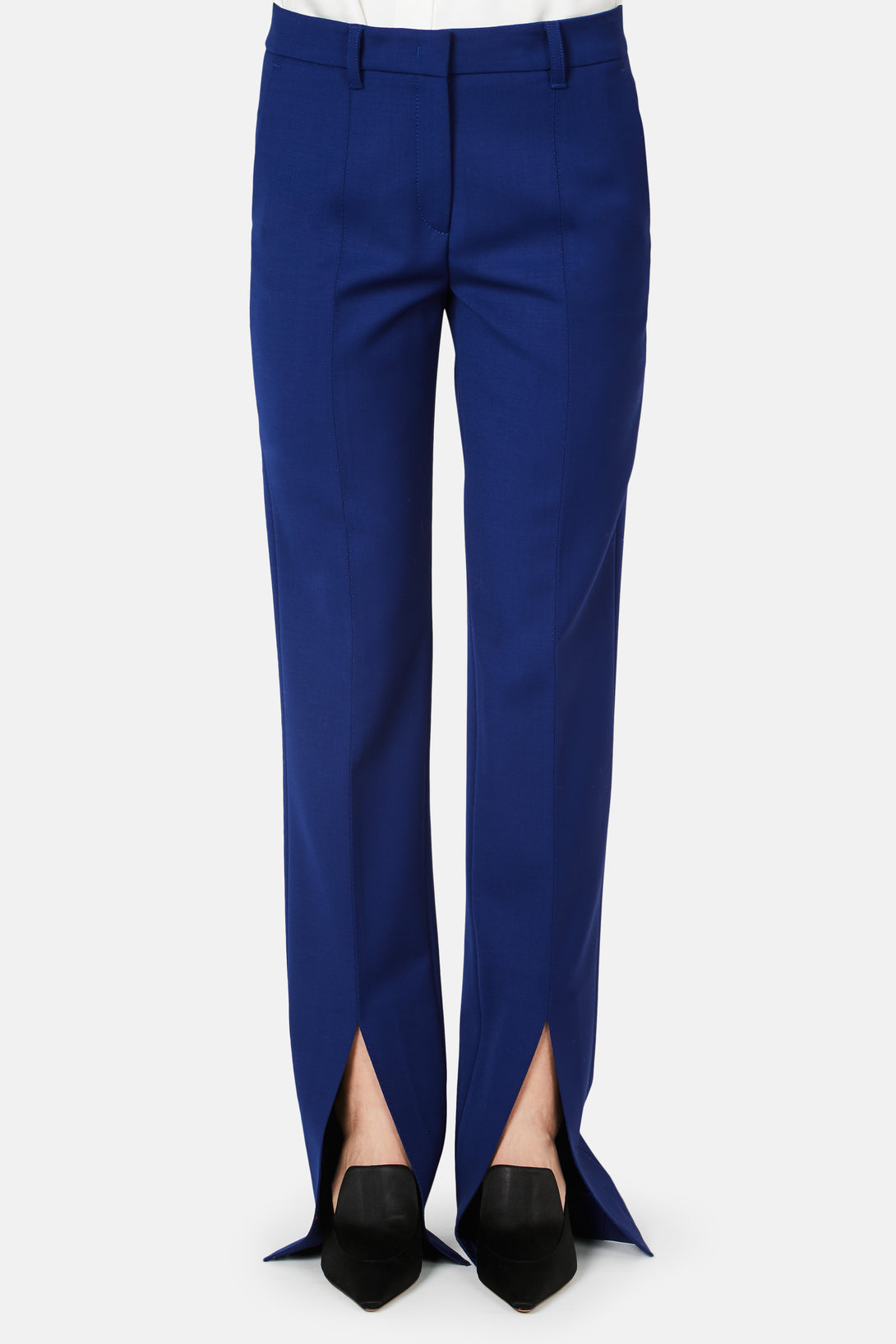 Francisco Bottom Slit Pant - Cobalt