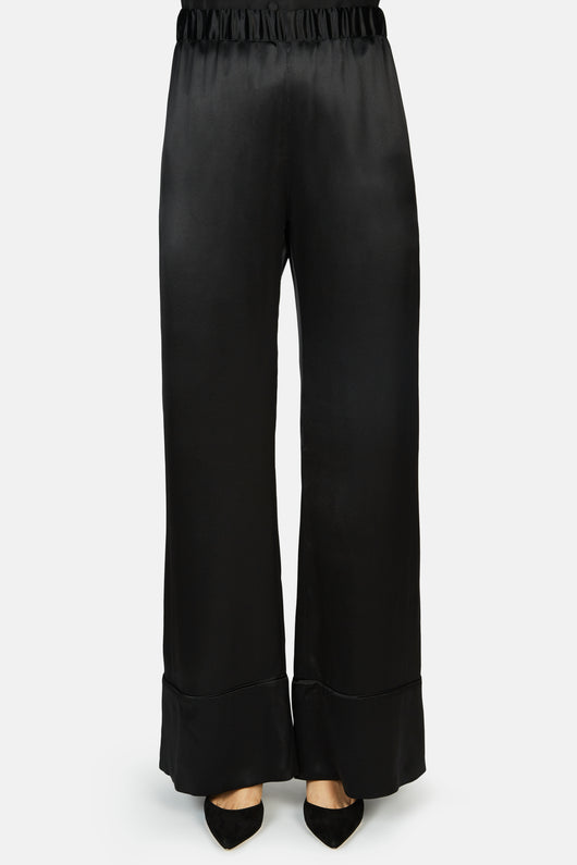 Paloma Wide Leg Pant - Black