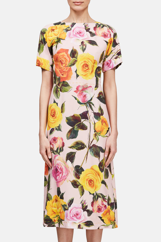 Cady Rose Dress - Multicolor