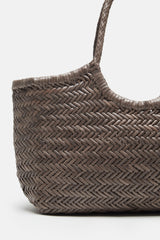 Nantucket Basket Bag - Grey