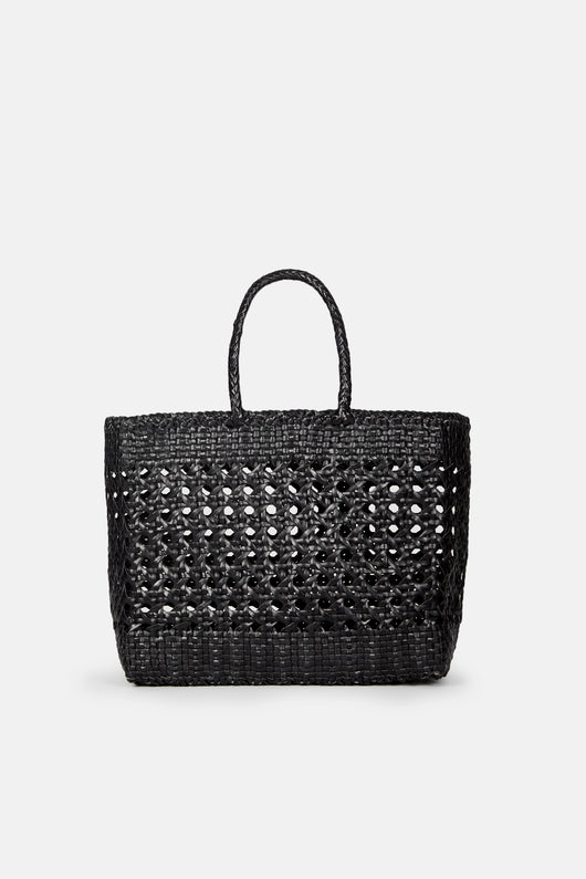 Cannage Large Bag - Black