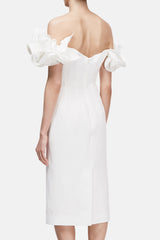 Desiree Dress - Natural White