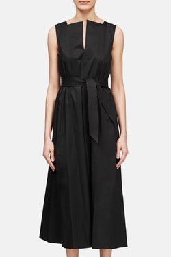 Flared Dress - Black