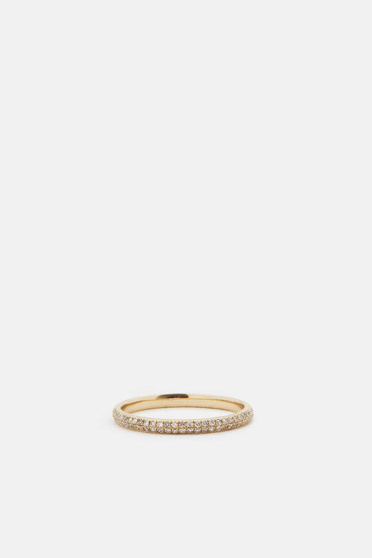 Axel Pave Ring - 14K Yellow Gold