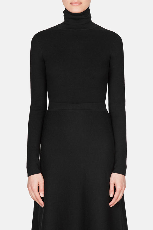 May Turtleneck - Black