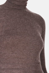 May Turtleneck - Brown