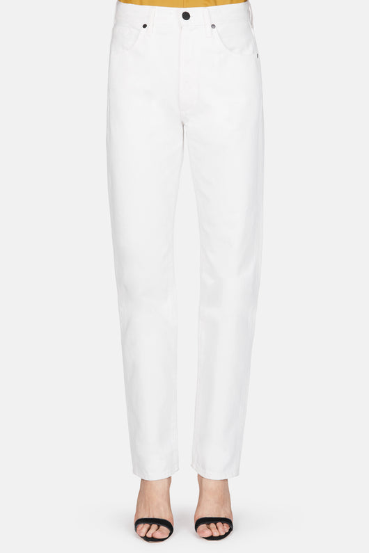 The Classic Fit Jean - Ghost White