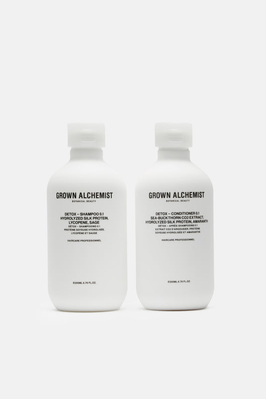 0.1 - Detox Haircare Twin Set - 200ml