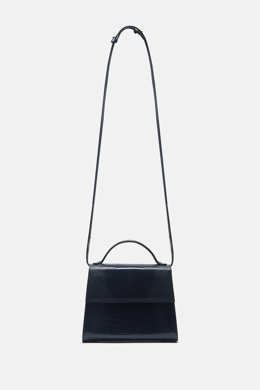 Mini Top Handle Bag - Navy
