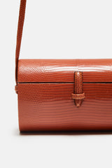 New Trunk Cross Body Bag - Rust