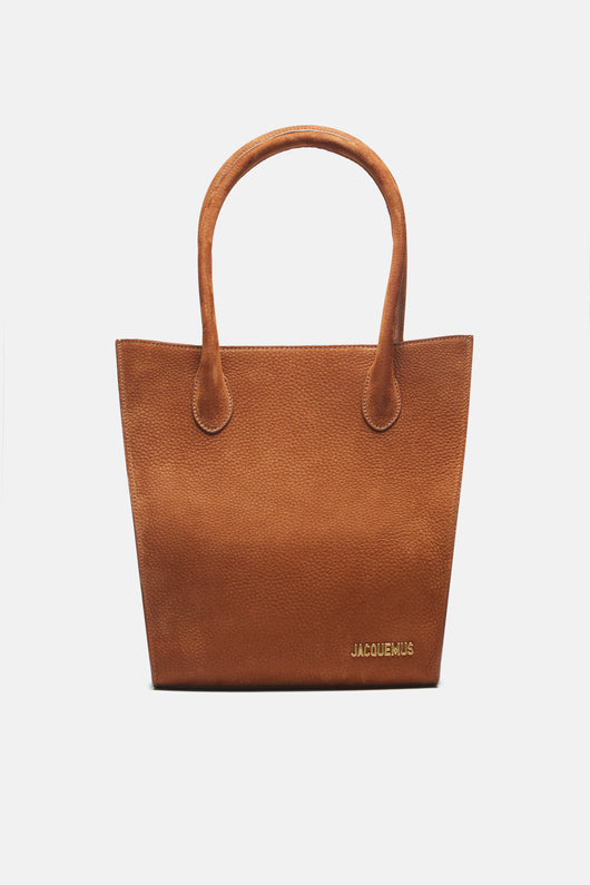 Le Petit Baya Shopper - Brown Nubuck