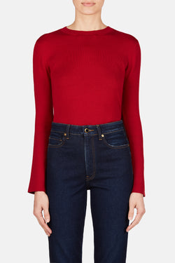 James Sweater - Red