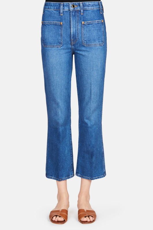 Rachel Patch Pocket Jeans - Napa