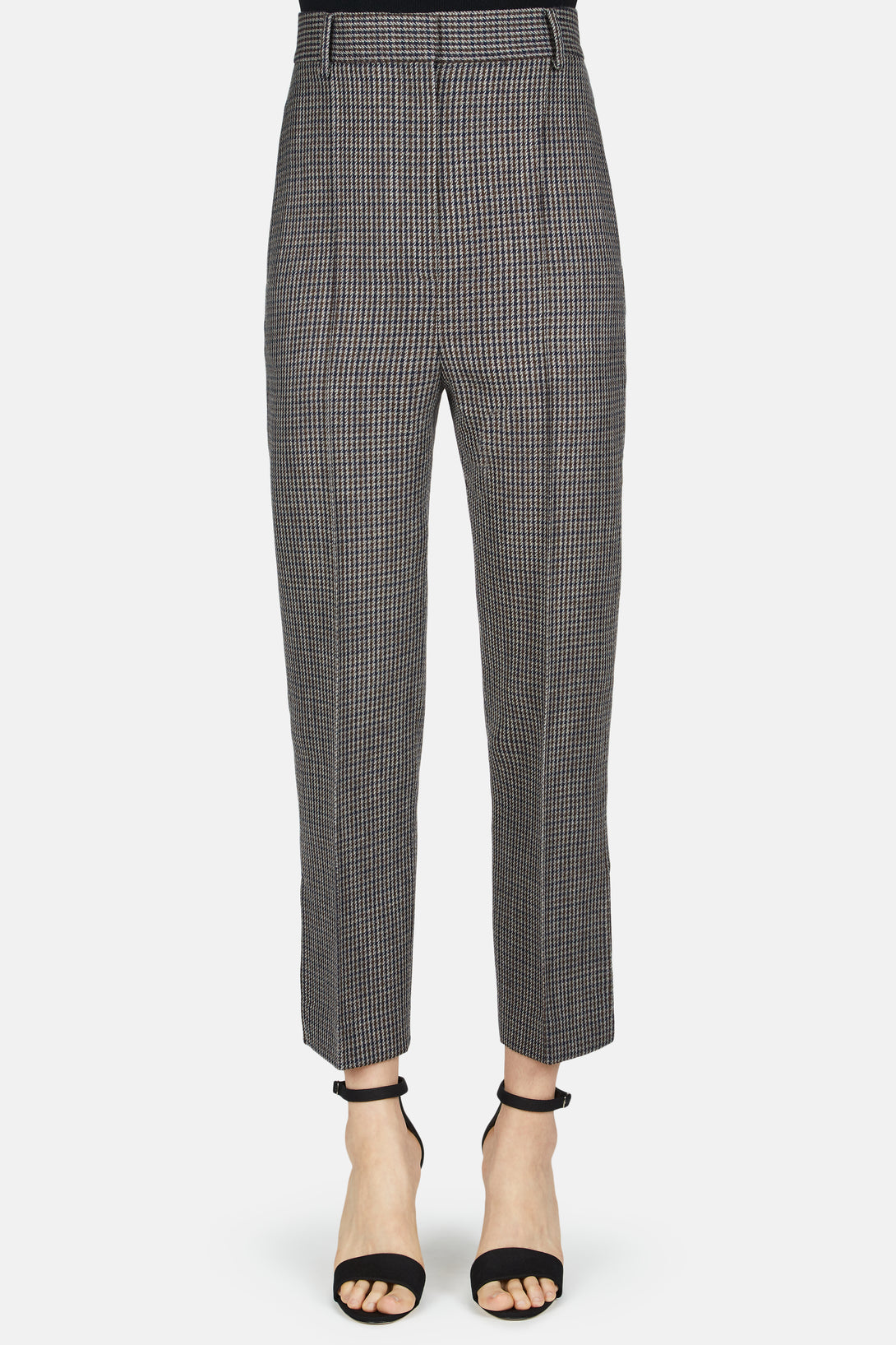 Kyle Slim Fit Pant - Brown Tweed