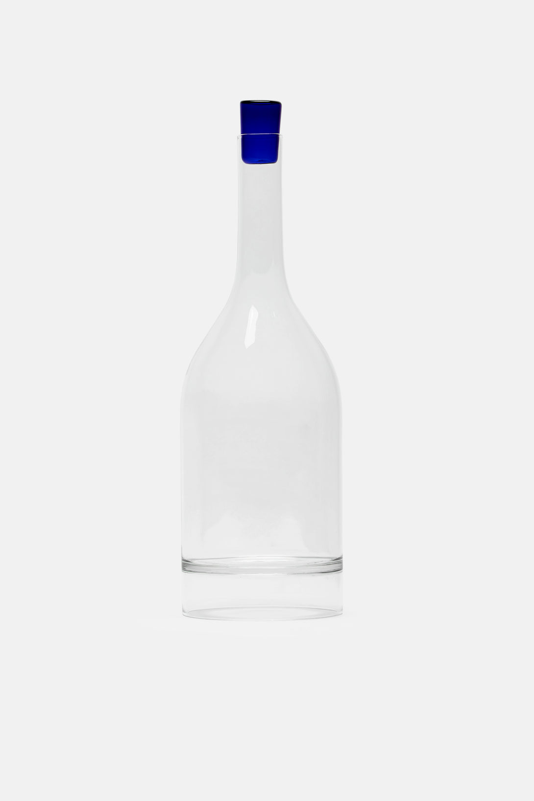 Decanter with Blue Top