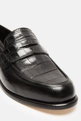 Slip On Loafer - Black/Black