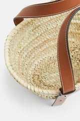 Small Basket Bag - Natural/Tan