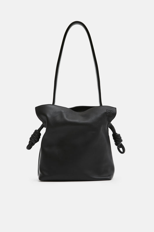 Flamenco Knot Small Bag - Black