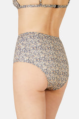 High Waist Brief - Berry