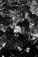 Berenice Abbott, Night View (New York at Night), 1932