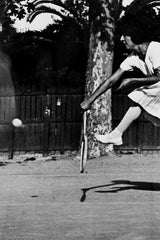 Lartigue, Jacques-Henri, Suzanne Lenglen Training, Nice, c.1921