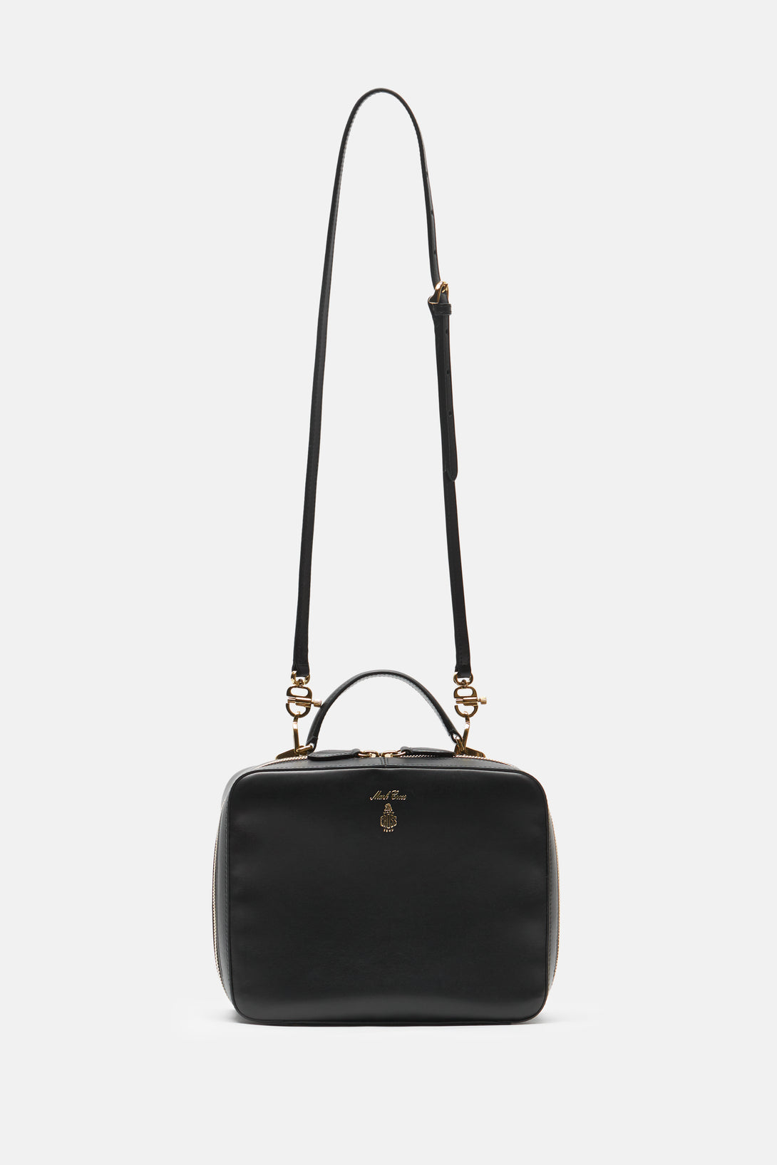 Laura Smooth Calfskin Bag - Black