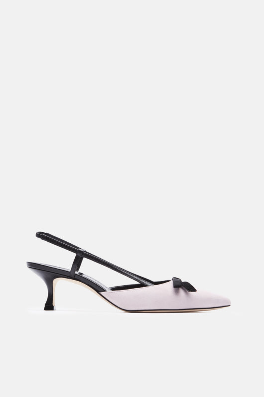 Galop Slingback - Magnolia Blush Pink Suede