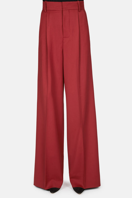 Baggy Trouser - Burgundy