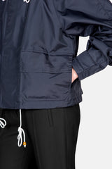 Short Technical Jacket - Blublack