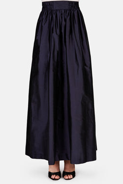 Saba Full Length Skirt - Dark Blue