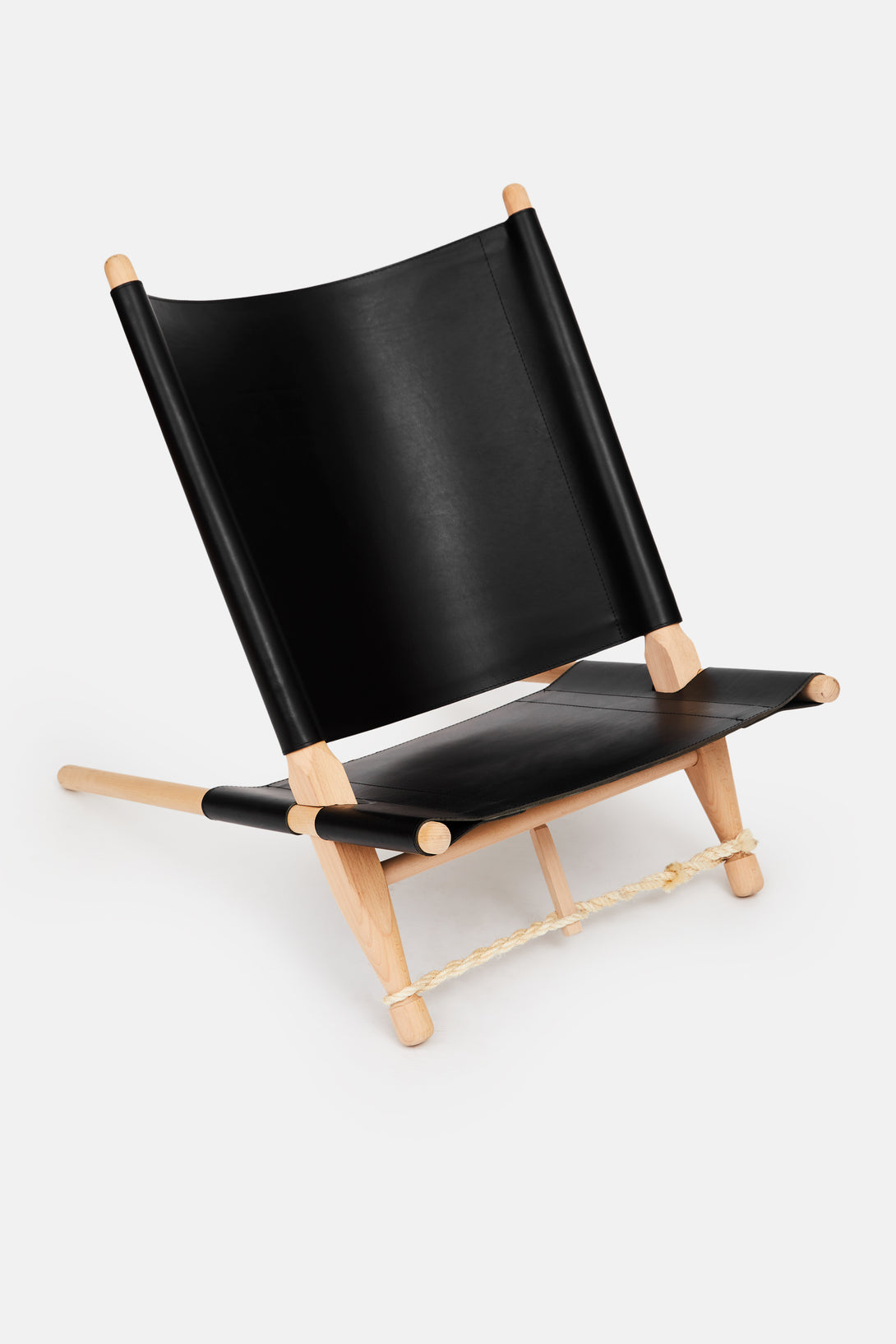 OGK Chair - Black Leather