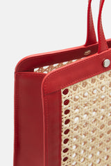 Rattan Bag Classic - Red