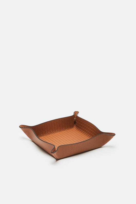 Square Valet Tray - Camel Firenze