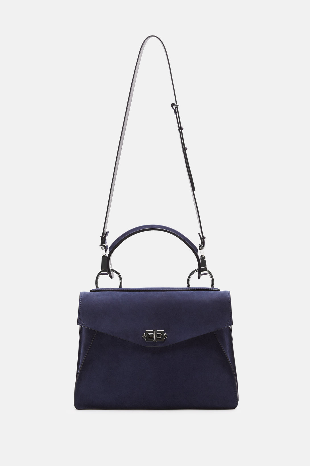 Medium Hava Top Handle Bag - Indigo
