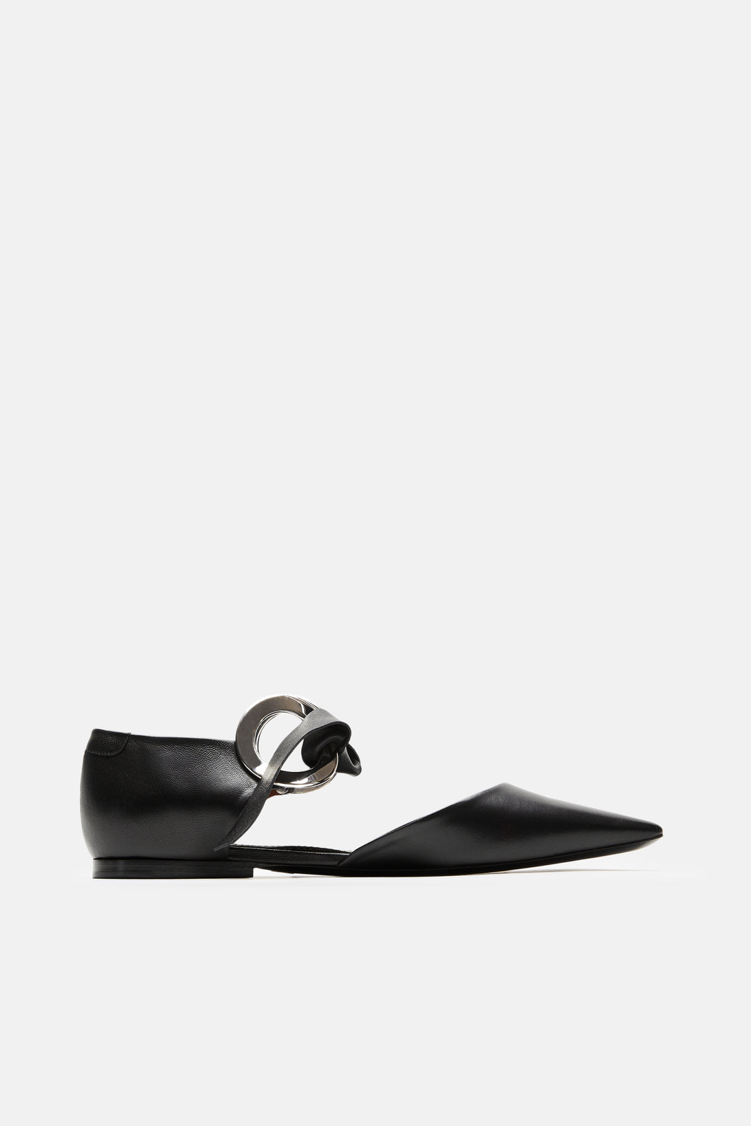 Ring Tie Flats - Black