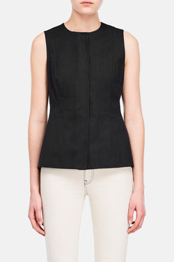 Vest 01 Shaped Vest - Black