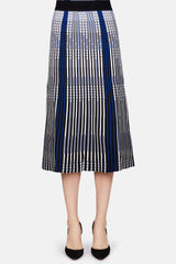 Sulham Skirt - Royal Blue Multi