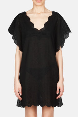 Shelter Island Tunic - Black