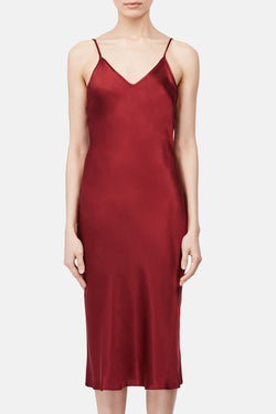 Classic Slip Dress - Cherry
