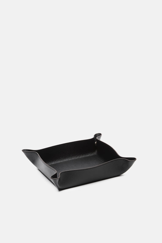 Square Valet Tray - Black