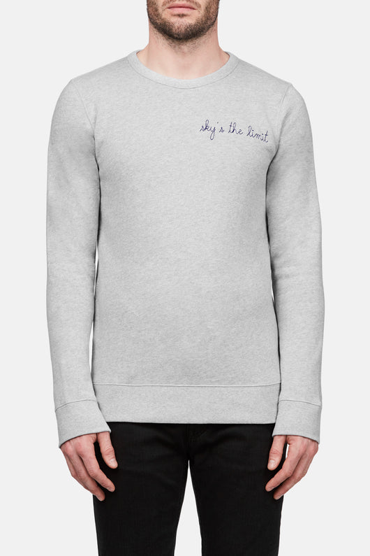 Sky's the Limit Pullover - Grey